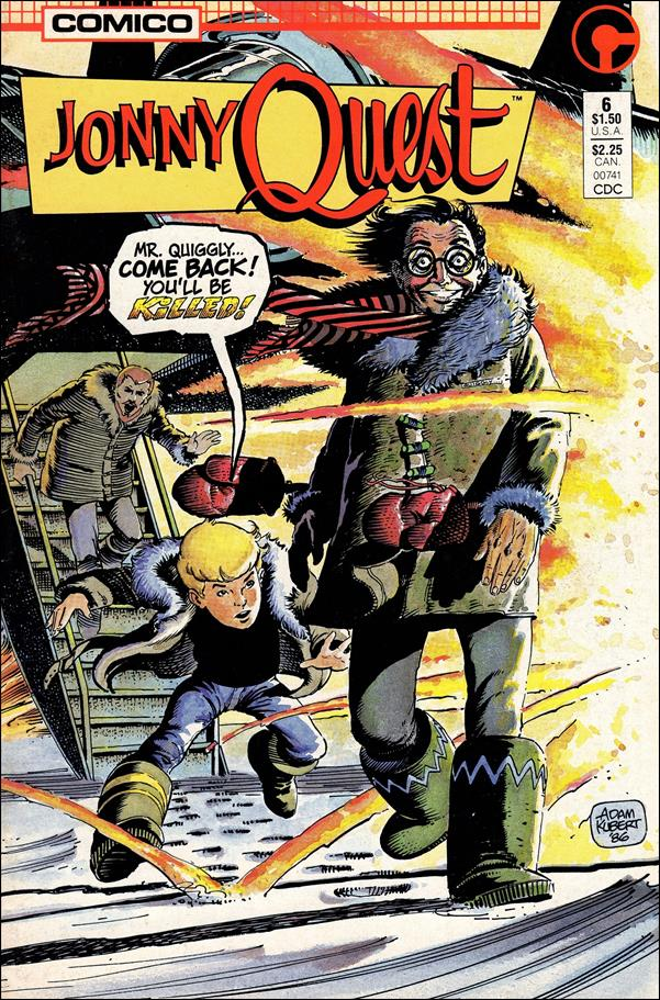 Jonny Quest (1986) 6-A by Comico
