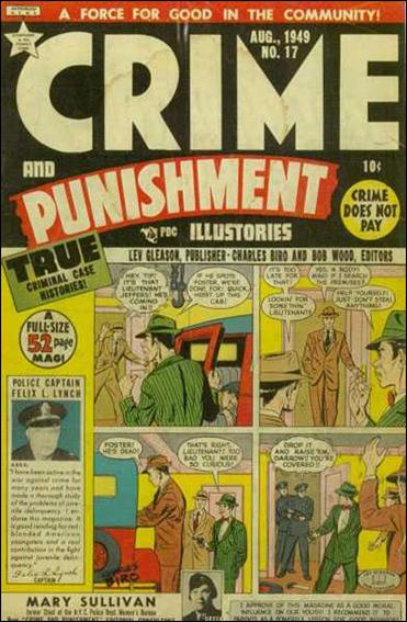 Crime and Punishment 17-A by Lev Gleason Productions