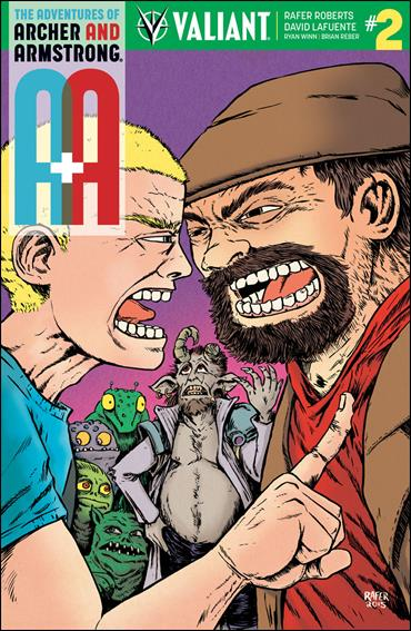 A&A: The Adventures of Archer & Armstrong 2-D by Valiant Entertainment