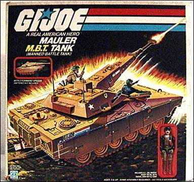 "G.I. Joe: A Real American Hero 3 3/4"" Basic Vehicles and Playsets Mauler (MBT Tank) by Hasbro"