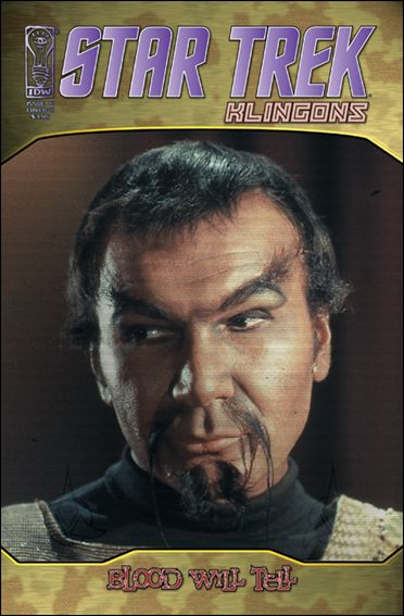 Star Trek: Klingons: Blood Will Tell 1-B by IDW