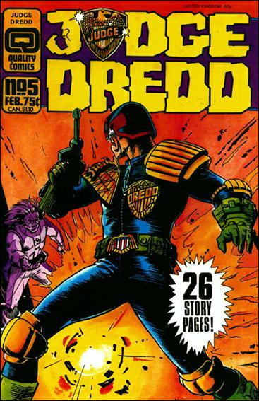 Judge Dredd (1986) 5-A by Quality Comics