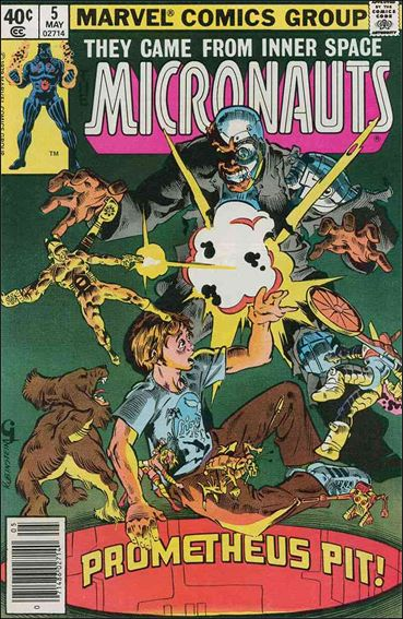 Micronauts (1979) 5-A by Marvel