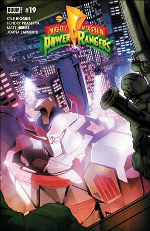 Mighty Morphin Power Rangers 19-A