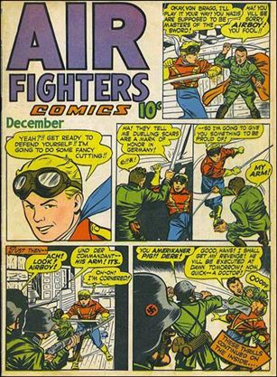 Air Fighters Comics (1943) 3-A