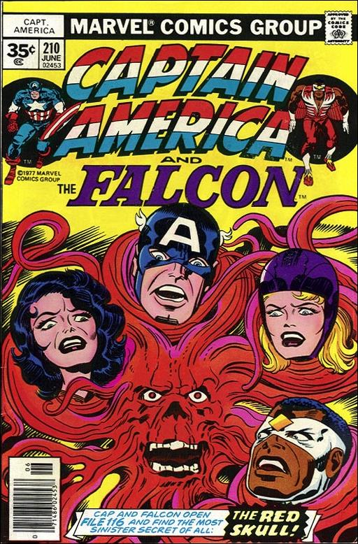 Captain America (1968) 210-B by Marvel