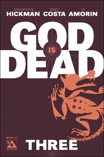 God is Dead 3-A by Avatar Press