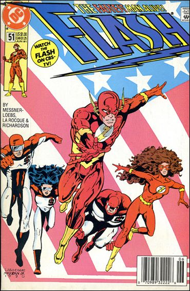 Flash (1987) 51-A by DC