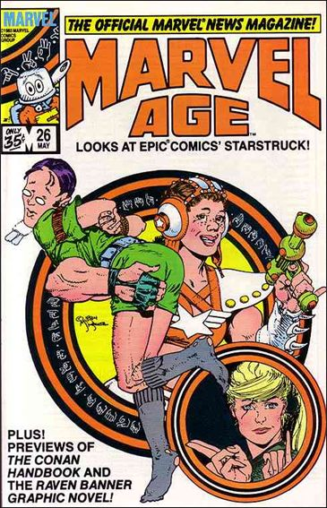Marvel Age 26-A by Marvel