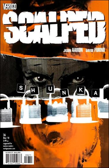Scalped 36-A by Vertigo