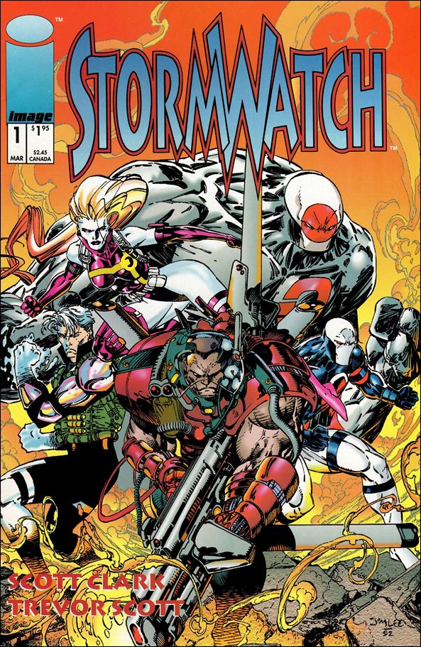 StormWatch (1993) 1-A by Image