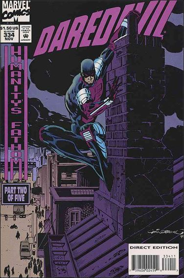 Daredevil (1964) 334-A by Marvel