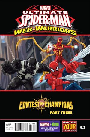 Marvel Universe Ultimate Spider-Man: Contest of Champions 3-A