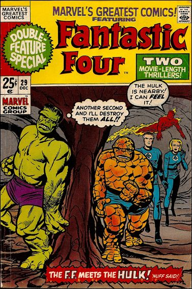Marvel's Greatest Comics 29-A by Marvel