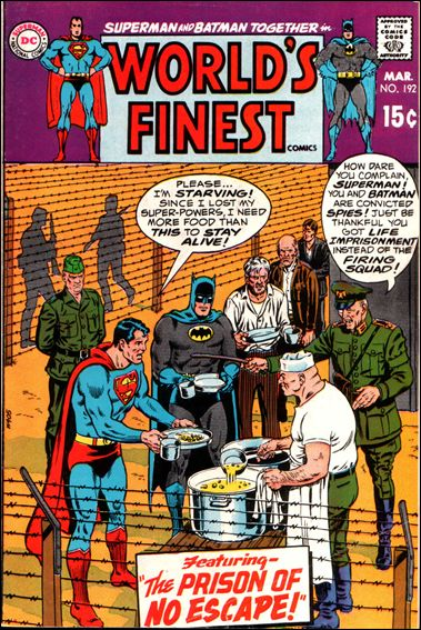 World's Finest Comics 192-A by DC