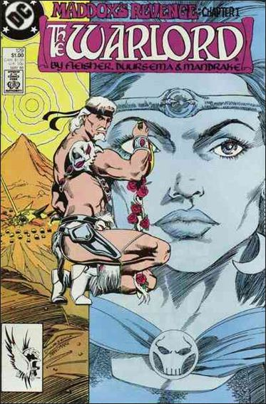 Warlord (1976) 129-A by DC