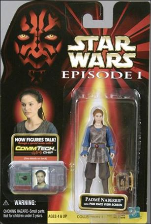 "Star Wars: Episode I 3 3/4"" Basic Action Figures Padme Naberrie (With Logos)"
