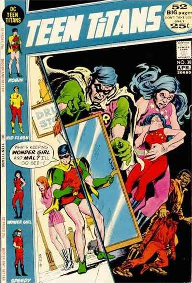 Teen Titans (1966) 38-A by DC
