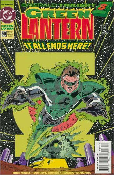 Green Lantern (1990) 50-A by DC