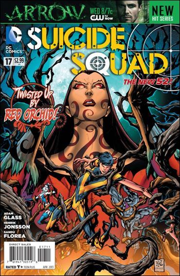 Suicide Squad (2011) 17-A by DC