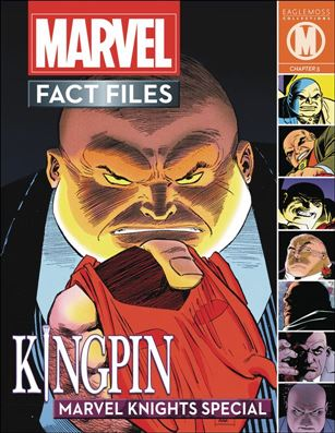 Marvel Fact Files Marvel Knights Special  4-A