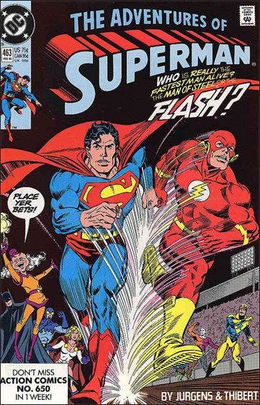 Adventures of Superman (1987) 463-A by DC