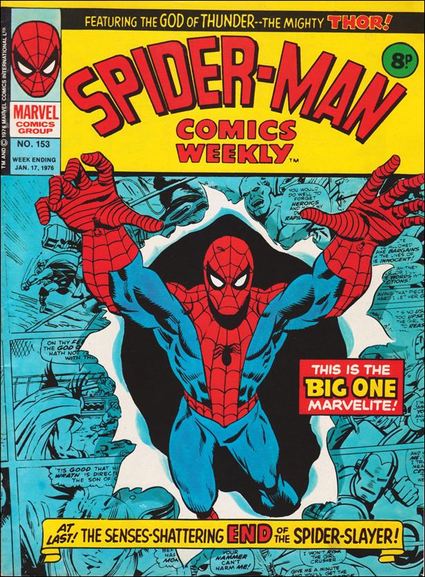 Spider-Man: Comics Weekly (UK) 153-A by Marvel UK