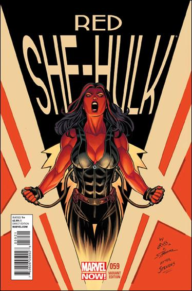 Red She-Hulk 59-B by Marvel