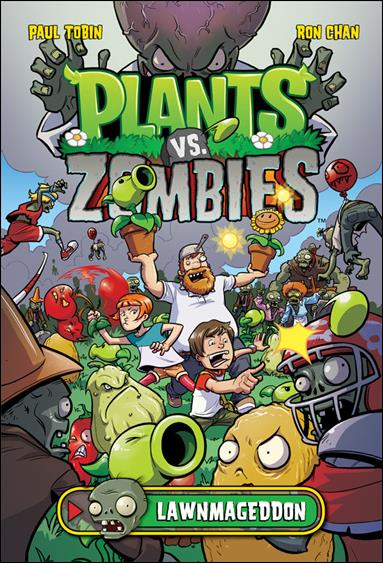 Plants vs Zombies: Lawnmageddon 1-A by Dark Horse