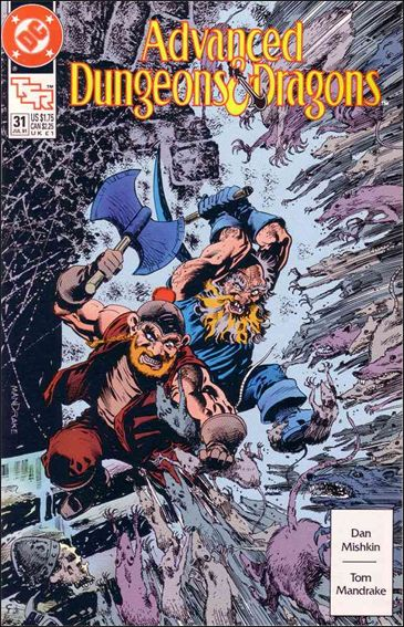Advanced Dungeons & Dragons 31-A by DC