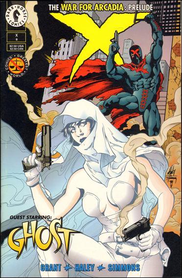 X (1994) 8-A by Dark Horse