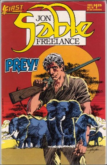 Jon Sable, Freelance 19-A by First