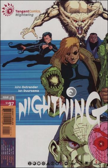 Tangent Comics/Nightwing 1-A by Tangent Comics