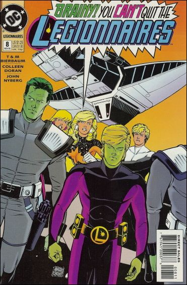 Legionnaires 8-A by DC