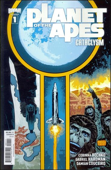 Planet of the Apes: Cataclysm 1-B by Boom! Studios