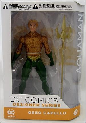 DC Designer Series: Greg Capullo Aquaman by DC Collectibles