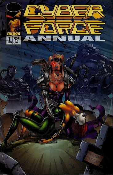 Cyberforce Annual 1-A by Image
