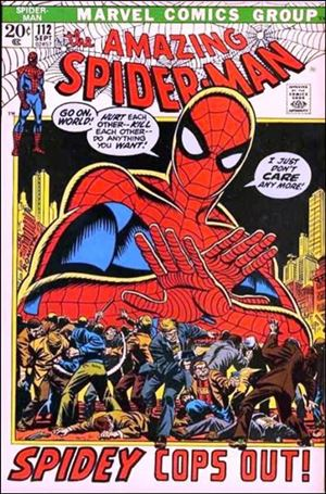 Amazing Spider-Man (1963) 112-A