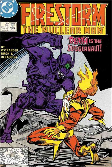 Firestorm The Nuclear Man (1987) 69-A by DC