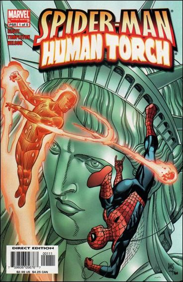 Spider-Man/Human Torch 1-A by Marvel