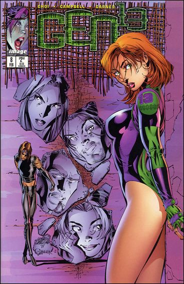 Gen13 (1995) 8-A by WildStorm