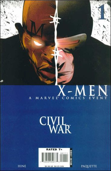 Civil War: X-Men 1-A by Marvel