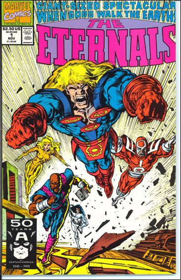 Eternals: The Herod Factor 1-A by Marvel
