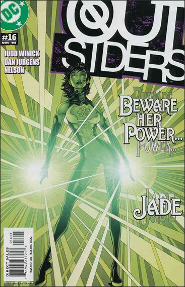 Outsiders (2003) 16-A by DC
