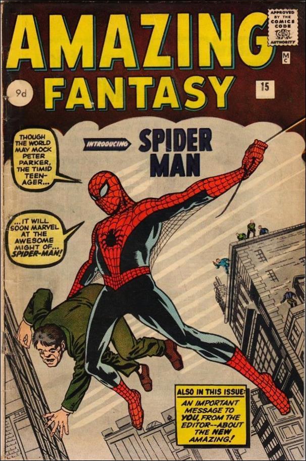 Amazing Fantasy (1962) 15-B by Marvel