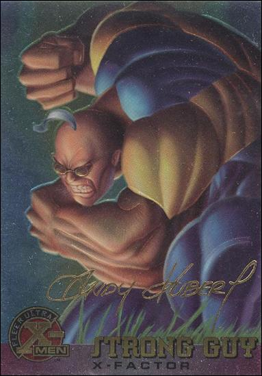 1995 Fleer Ultra X-Men All Chromium (Gold Signature Parallel Base Set) 19-A by Fleer