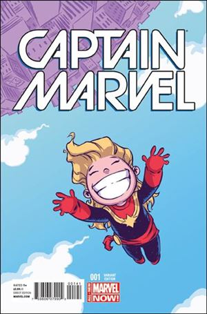 Captain Marvel (2014) 1-D