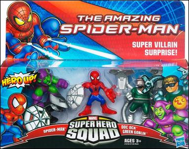 Amazing Spider-Man - Marvel Super Hero Squad (Box Sets) Super Villain Surprise! by Hasbro