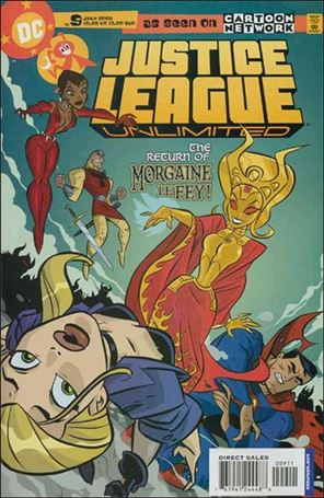 Justice League Unlimited 9-A