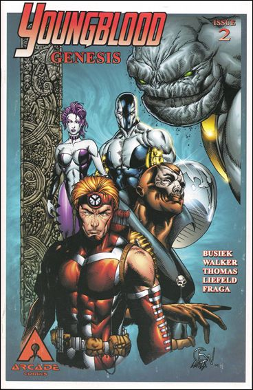 Youngblood Genesis 2-B by Arcade Comics